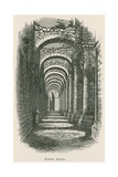 Fountains Abbey, North Aisle Giclee Print by Alexander Francis Lydon