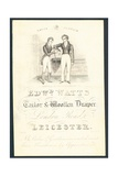 Edward Watts, Tailor and Woollen Draper, Trade Card Giclee Print