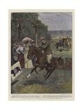 A Novel Event in a Gymkhana Giclee Print by John Charlton