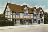 Shakespeare's House, Stratford-On-Avon Photographic Print