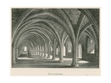 Fountains Abbey, the Cloisters Giclee Print by Alexander Francis Lydon