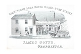 Trade Card, Birmingham Soda Water Works Giclee Print