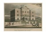 General View of the Sussex County Hospital Giclee Print by Ian Bruce