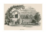 Fountains Abbey, West Front Giclee Print by Alexander Francis Lydon