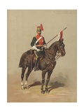 12th Prince of Wales's Royal Lancers, Trooper, Review Order Giclee Print