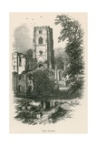 Fountains Abbey, the Tower Giclee Print by Alexander Francis Lydon