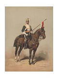 17th Duke of Cambridge's Own Lancers, Trooper, Review Order Giclee Print