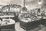 Confectionery Section in Selfridges Department Store Photographic Print