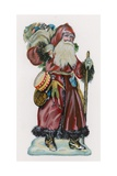 Father Christmas Giclee Print