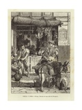 Greece and Rome - Rome: Street Scene in Pompeii Giclee Print