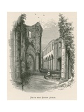 Fountains Abbey, Nave and South Aisle Giclee Print by Alexander Francis Lydon
