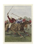 Polo in India Giclee Print by Richard Caton II Woodville