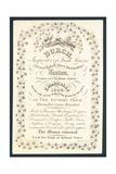 Burch, Importer of Irish Linens, Trade Card Giclee Print