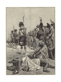The 42nd Highlanders Guarding French Prisoners Giclee Print by Richard Caton II Woodville