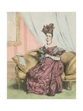 9 Heures Du Soir Giclee Print by Achille Deveria