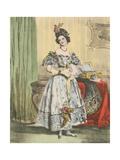 11 Heures Du Soir Giclee Print by Achille Deveria