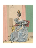 10 Heures Du Soir Giclee Print by Achille Deveria