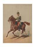 11th Prince Albert's Own Hussars, Trooper, Review Order Giclee Print