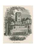Fountains Abbey, from the South Giclee Print by Alexander Francis Lydon