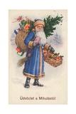 Hungarian Christmas Card Giclee Print