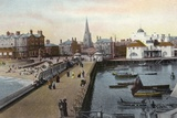 Yacht Basin, Lowestoft Photographic Print
