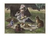 A Garden Party Giclee Print
