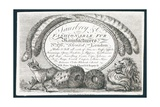 Saubry and Co, Fashionable Fur Manufacturers, Trade Card Giclee Print