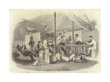 The War in China - Tent of the 15th Punjaubees at Pehtang Giclee Print by Charles Wirgman
