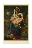 Charity Giclee Print by William-Adolphe Bouguereau