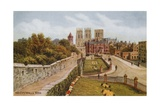 The City Walls, York Giclee Print by Alfred Robert Quinton