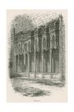 Furness Abbey, Sedilia Giclee Print by Alexander Francis Lydon