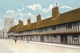 Guild Chapel, Grammar School, and Alms Houses, Stratford-On-Avon Photographic Print
