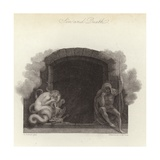 Sin and Death Giclee Print by Thomas Stothard