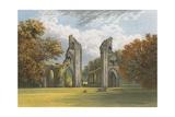 Glastonbury Abbey Giclee Print by Alexander Francis Lydon