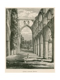Rievaulx Abbey, Choir, Looking North Giclee Print by Alexander Francis Lydon
