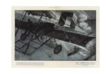 The Aeroplane Scout Giclee Print by Henri Lanos
