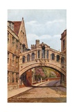 Bridge of Sighs, Hertford College, Oxford Giclee Print by Alfred Robert Quinton
