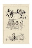 Les Menus De Madame Giclee Print by Albert Guillaume
