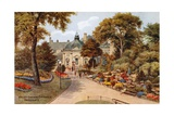 Valley Gardens Entrance, Harrogate Giclee Print by Alfred Robert Quinton