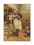 The Rivals Giclee Print by Edward Killingworth Johnson