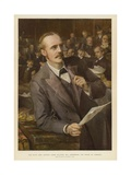 The Right Honorable Arthur James Balfour Giclee Print by Sydney Prior Hall