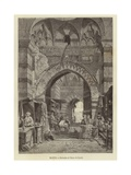 Egypt - Entrance to Khan El-Khalili Giclee Print by Carl Friedrich Heinrich Werner