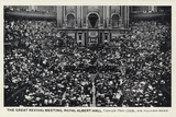 The Great Revival Meeting, Royal Albert Hall, London Photographic Print