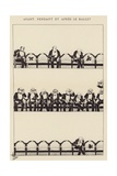 Avant, Pendant Et Apres Le Ballet Giclee Print by Albert Guillaume