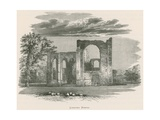 Furness Abbey, Looking North Giclee Print by Alexander Francis Lydon