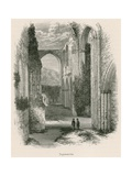 Furness Abbey, Transepts Giclee Print by Alexander Francis Lydon
