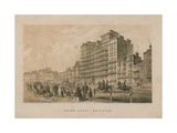 General View of the Grand Hotel in Brighton Giclee Print