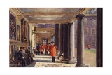 The Colonnade, Royal Hospital Chelsea Giclee Print by Charles Edwin Flower
