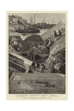 Our Fishing Industries: Drift-Net Fishing for Pilchards Off Cornwall Giclee Print by Percy Robert Craft