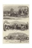Epsom Races, 1857 Giclee Print by Benjamin Herring